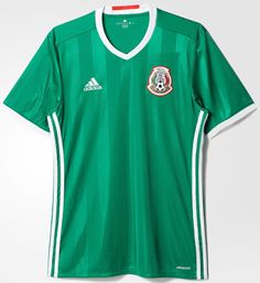 9c050c77a Mexico 2016 Copa America Home Kit Jersey  a Mens Jersey Shirts
