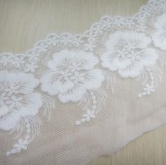 11cm US $1.26 x 20 yards # Lace Mnf. No. 1 [US $1.17 x 45 yards # New Green http://www.aliexpress.com/store/product/Embroidery-cotton-lace-11cm-off-white-for-retail-and-wholesale/709143_680608119.html]