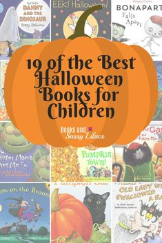19 of the Best Halloween Books for Children #Books #children'sbooks #Library #Lists #bookshelf #trickortreat #monsters #witches #skeletons #parents #readtokids #reading #ToRead #besthalloweenbook #booksforhalloween #booksforgirls #halloweenstorybooks #bab