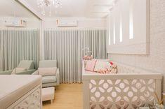 Quarto de bebê pequeno: 70 ideias e dicas para aproveitar o espaço Baby Room, Toddler Bed, Curtains, Furniture, Home Decor, 36, Sweet Home, Child Room, Couple Room