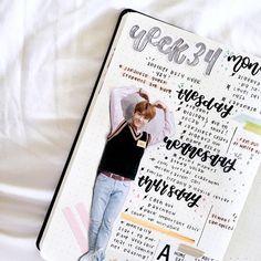 Bujo, Bullet Journal Inspiration, Journal Ideas, Cute Scrapbooks, Nct Dream Jaemin, Cute Journals, Journal Quotes, Pink Sky, Ballet