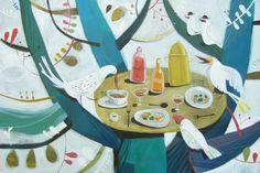 paintings, by felicita sala