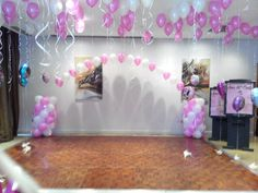 party decoration by CelebrateIt at Absolute Hotel Limerick.