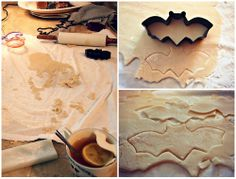 Undressed Skeleton — Frosted Halloween Sugar Cookies!