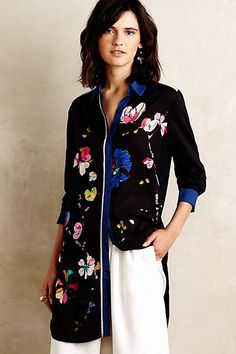 Impromptu Floral Tunic #anthroregistry