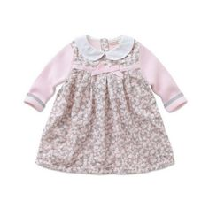 DB327 baby girl apparel knitted dress