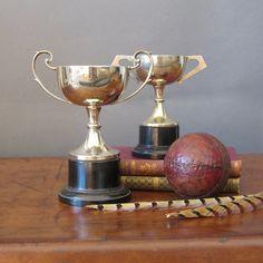 1937 English Silver Plate Trophy Cricket Trophy by FanshaweBlaine Vintage trophy