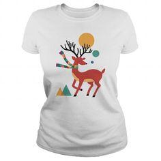 Deer Autumn T Shirts, Hoodies. Check price ==► https://www.sunfrog.com/Pets/Deer-Autumn-White-Ladies.html?41382