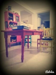 Colores Corner Desk, Furniture, Home Decor, Carousel, Colors, Corner Table, Decoration Home, Room Decor, Home Furniture