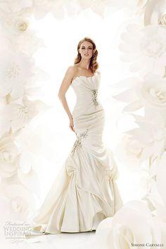 Simone Carvalli Wedding Dresses | Wedding Inspirasi