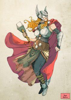Thor by Vicente Valentine