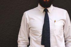 Indigo Weave Neck Tie – Heywood 1922