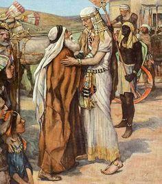 Jacobs wederzien van Jozef Bible Images, Bible Pictures, Jesus Pictures, Church Pictures, Religious Pictures, Religious Art, Bible Heroes, Masonic Art, Jesus Photo
