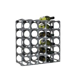 30 Bottle Wine Rack: Wine and Beer Fridges. Never rots, never gets damp and mouldy. Easily add to it as your collection grows