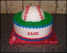 baseball themed baby shower cakes - Google Search