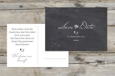Save the Date-Karte, Lieblingsdesign 18   Made With Love ♥ Hochzeitspapeterie