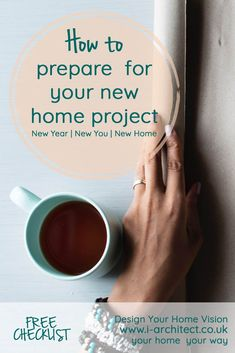 Making a start on your new home. Top tips for deciding your home improvements. Setting your budget. Design Your Home, New Home Designs, House Design, Home Projects, Craft Projects, Victorian Terrace, New You, Nice View, Budgeting