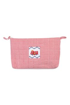 Cosmetic Bag - Fire Truck