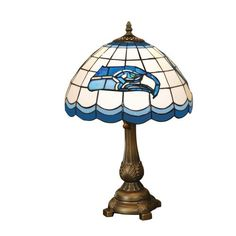 Special Offers - NFL Seattle Seahawks Tiffany Table Lamp - In stock & Free Shipping. You can save more money! Check It (June 10 2016 at 10:13PM) >> http://tablelampusa.net/nfl-seattle-seahawks-tiffany-table-lamp/