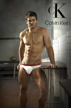 David 'Wolfman' Williams (Rugby Player) for Calvin Klein.