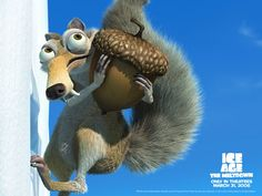 Ice age Scrat and ages Scrat in Ice Age the Meltdown