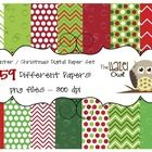 Dress up your winter materials and/or products with this large, winter / Christmas themed, set of digital papers!  These papers can be used in your...