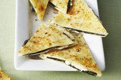 Basil & Cheese Wedges recipe