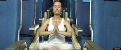 Airplane Yoga