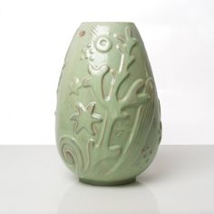 Swedish Art Deco Ceramic Vase by Anna-Lisa Thomson 3