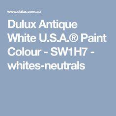 The 12 Best Dulux Paint Colors Images On Pinterest Dulux