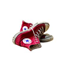 PSD Detail | dirty red converse . | Official PSDs ❤ liked on Polyvore featuring shoes, sneakers, converse, scarpe, converse sneakers, red shoes, converse footwear, red sneakers and converse shoes