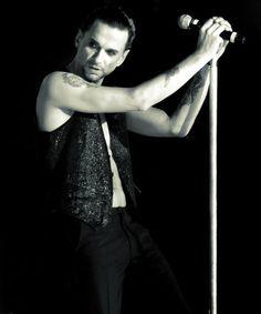 Beautiful Dave Gahan of Depeche Mode