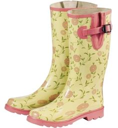 Welly Boot Style: New Laura Ashley Print Wellies