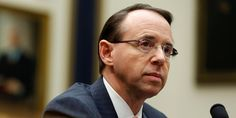President Donald Trump is reportedly mulling over firing deputy attorney general Rod Rosenstein.     The New York Times reported Tuesday that Rosenstein personally signed off on a search warrant targeting Trump's longtime longtime lawyer, Michael Cohen.     FBI agents raided Cohen's office, home, and hotel room early Monday morning and seized records, electronic devices, and attorney-client communications between Trump and Cohen.