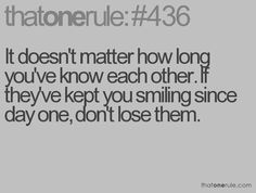 I have someone like this, thank you! (you know who you are)