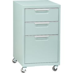 CB2 - TPS Mint File Cabinet, $159 - in mint x2!