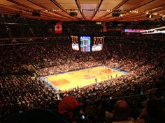 Madison Square Garden. I took my five year old to the Ringling Bros. Barnum and Bailey Circus there.