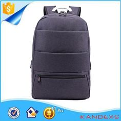 Wholesale Fashionable 15 Inch Nylon Light Grey Business Laptop Backpack b3441a1cf8