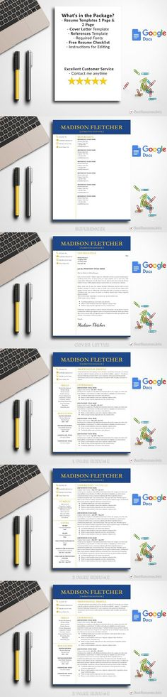 Resume Template 5 Pages CV Design Professional Resume Templates - resume 5 pages