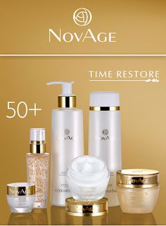 Чтобы разбогатеть, не нужно много работать. Нужно работать в нужном месте, и в нужное время!: Вторая молодость кожи с NovAge Time Restore!