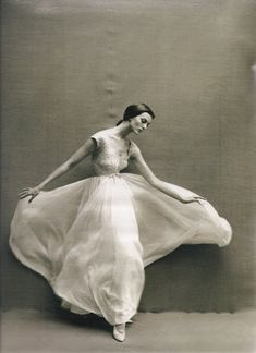Carmen Dell' Orefice by Richard Avedon, 1946 | AnOther Loves