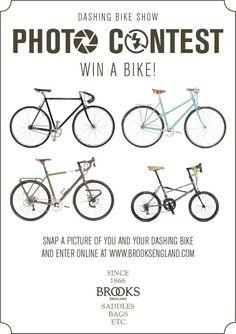 1faff4782c Brooks England Dashing Bicycle Show Photo Contest Brooks England, Bike  Photo, Show Photos,