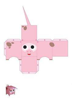 Caja cerdo