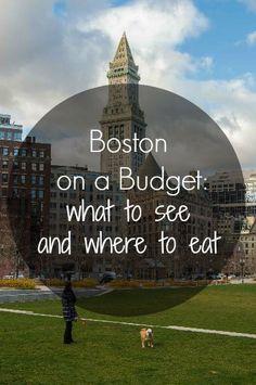 boston budget travel