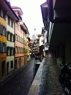 Old part of town Zug , Switzerland