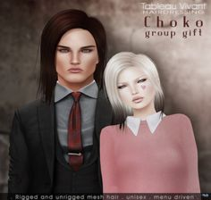 Unisex Choko Hair Group Gift by Tableau Vivant