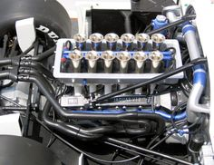 Jaguar 5.0L V12 fitted to the XJR-9LM Group C prototype. Developed 750bhp.