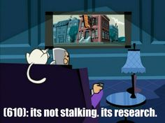 """textsfromamitypark: """" (610): its not stalking. its research. Screenshot source- http://dannyphantomscreencaps.weebly.com/ """""""