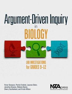 Argument-Driven Inquiry in Biology: Lab Investigations for Grades 9-12 PB349X1 by Victor Sampson http://www.amazon.com/dp/1938946200/ref=cm_sw_r_pi_dp_0bnPvb10AS3S9