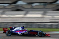 Sean Gelael, Toro Rosso, Yas Marina, 2017 F1 2017, Test Day, Formula One, Abu Dhabi, Racing, Car, Pictures, Image, Running